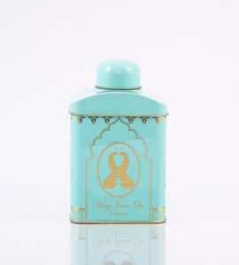 TEA CANISTER PASTEL (BLUE)