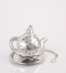 Teapot infuser with tray